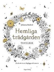 Colouring Book/prints Hemliga Trädgården