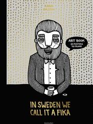 "Bok/tavlor ""In Sweden we call it fika"""