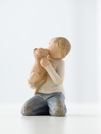 "Figurine Willow Tree ""Kindness Boy"""
