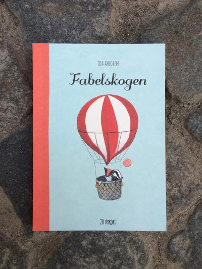 Book/postcards Fabelskogen