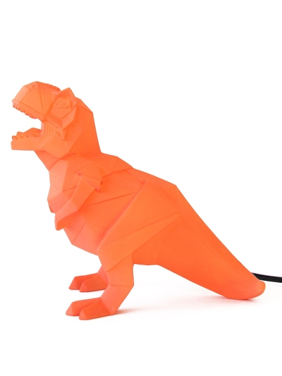 Dinosaur Lamp, Orange