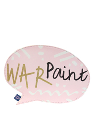 "Make up bag ""War Paint"""