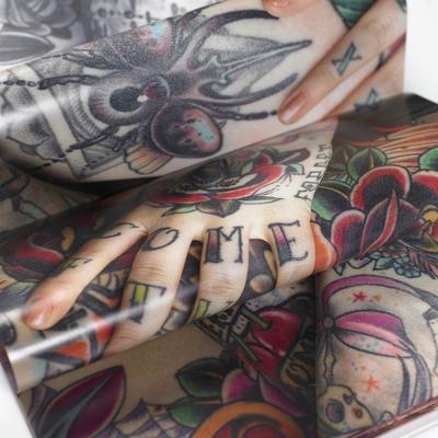"""Paper Craft Book big """"Tattoo"""""""