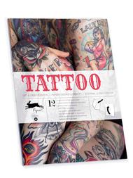 "Pysselbok stor ""Tattoo"""