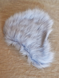 Seat Covers Sheepskin Toscana, dove blue