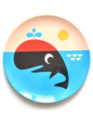 """Plate Ingela P Arrhenius """"Whale"""""""