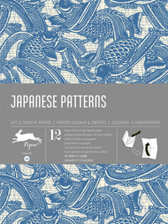 "Pysselbok stor ""Japanese Patterns"""