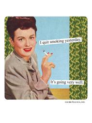 Magnet, I quit smoking