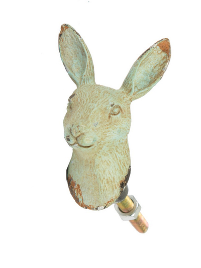Drawer Knob Hare, green