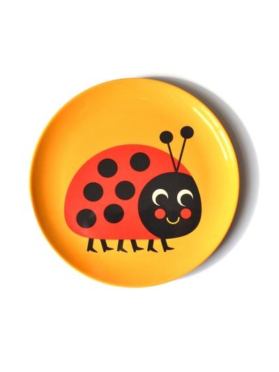 """Plate Ingela P Arrhenius """"Ladybug"""""""