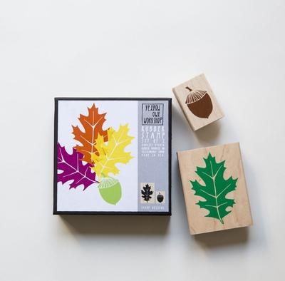 Stamp Set, Oak