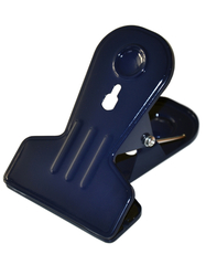 Clip in metal, navy