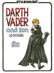 Bok/vykort Darth Vader and son