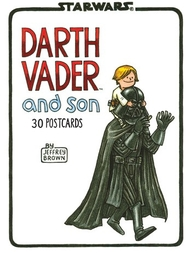 Bok/vykort Darth Vader and son