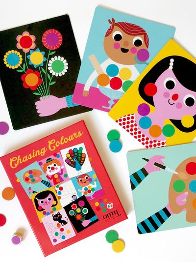 Game by Ingela P Arrhenius - Chasing Colours