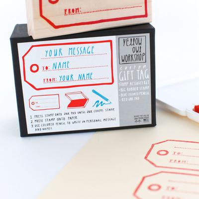Stamp Set, Gift tag