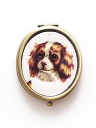 """Compact mirror """"Delia Dog"""""""