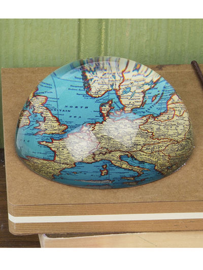 Paperweight Vintage Map