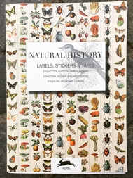 "Stickerbok ""Natural History - Labels, Stickers & Tapes"""