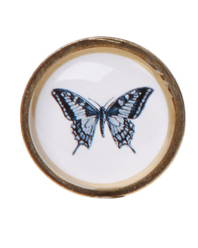 Drawer Knob Butterfly
