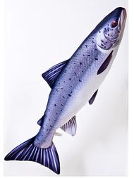 Fisk-kudde Lax , stor 90 cm