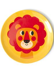 """Plate Ingela P Arrhenius """"Lion"""", gul"""