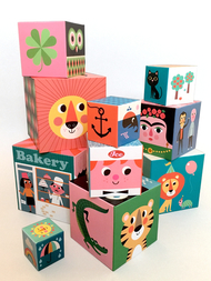 Nesting & stacking blocks 10 pcs Ingela P Arrhenius
