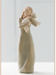 "Figurine Willow Tree ""Peace on Earth"""