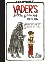 Book/postcards Vader's Little Princess